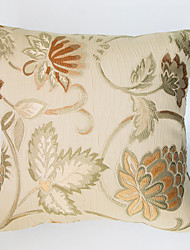 Jacquard Cushion Cover -Golden