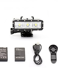 Gopro Accessories Battery / Spot Light LED / Cable/HDMI Cable / Wrenches Waterproof / Convenient / Dust Proof, For-Action Camera,Gopro