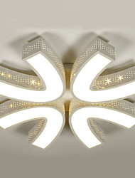65W Montage de Flujo ,  Esfera Pintura Característica for LED MetalSala de estar / Dormitorio / Comedor / Habitación de estudio/Oficina /