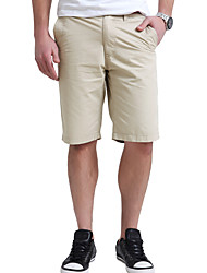 Lesmart Men's Shorts Pants Beige-LW13343