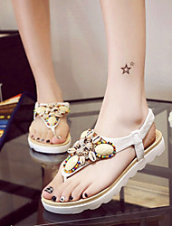 Women's Shoes Flat Heel Gladiator Sandals Outdoor / Dress Blue / White
