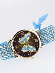 Woman's Hand Woven Bracelet  Watch Cool Watches Unique Watches