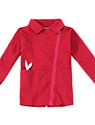 Veste & Manteau Fille de Printemps / Automne Coton Marron / Vert / Rouge