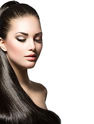 """3pcs / lot 8 """"-34"""" brasileira da trama do cabelo virgem tece # 1b humano reta extensão do cabelo por atacado"""