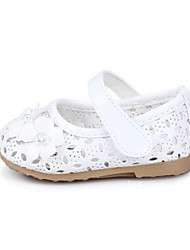 Baby Shoes Dress / Casual PU Flats Pink / White