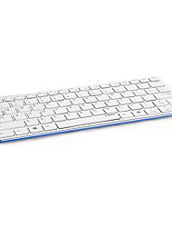 e6350 de Rapoo originaux ultra mince mince bluetooth métal 3.0 clavier sans fil pour tablette pc noir / blanc / bleu / jaune / rouge