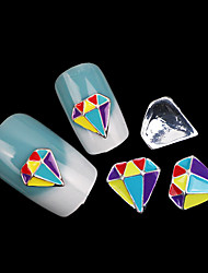 Lovely Mental Nail Jewelry (at Least 10Pcs)