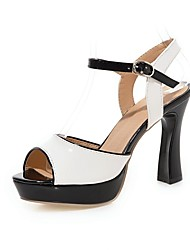 Women's Shoes Chunky Heel Peep Toe Sandals More Color Available