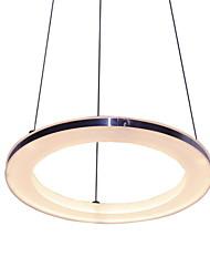 15 Lampe suspendue ,  Contemporain Plaqué Fonctionnalité for LED Métal Salle de séjour Chambre à coucher Salle à manger