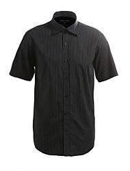 JamesEarl Masculino Colarinho de Camisa Manga Curta Shirt & Blusa Cinza-Acastanhado - M21X5000717