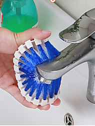 Flexible Soft Brush Cleaning Decontamination Faucet Corner Bath Brush
