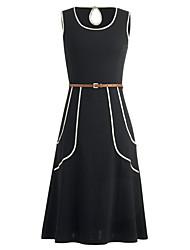 Womens Elegant Vintage Style Rockabilly Swing Party Dress