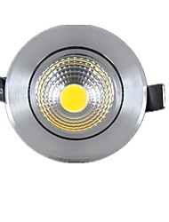 5W 2G11 Luci a sospensione Girevole 1 COB 450-500lm lm Bianco caldo / Luce fredda Intensità regolabile AC 220-240 V 1 pezzo