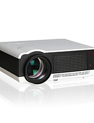 1080P HD Home Entertainment Projector with 2800 Lumen LED Bulb, Android System and Wifi Function