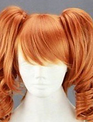 Fashion Cosplay Wig 20 Inches  Long Curly  Animated  Synthetic Hair Wigs Party Wig  Cartoon Wig