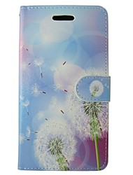 For Huawei Case / P9 / P8 / P8 Lite Wallet / Card Holder / with Stand Case Full Body Case Dandelion Hard PU Leather HuaweiHuawei P9 /