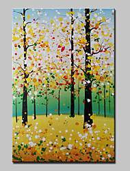 Lager Handmade Tree Landscape Oil Painting Abstract Girl Decor Wall Paintings Art For Living Room Home Whit Frame