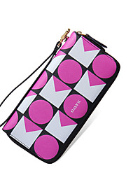 NAWO Women Cowhide Clutch Pink-N254011