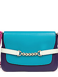 NAWO Women Cowhide Shoulder Bag Blue - N241