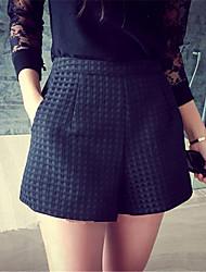 Damen Hose - Leger / Einfach Kurze Hose Polyester Unelastisch