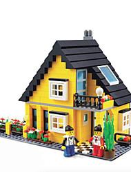 dr wan, le neue Villa Gebäude Plastikblöcke Spielzeug Puzzle zusammengesetzt 32052