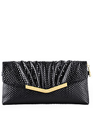 NAWO Women Cowhide Clutch Black-N153031