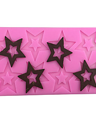 Pentagram Style  Candy Fondant Chocolate Molds  For The Kitchen Baking Molds