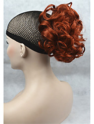 court synthétique bouclés ondulés clip griffe queue de cheval queue de cheval extension de cheveux postiche pour les femmes
