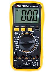victor vc9801a + amarelo para multímetros digitais professinal