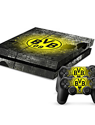 New Protective Sticker Cover Skin for PS4(TN-PS4-0408-B)