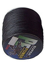 500M / 550 Yards Linha Traçada PE / Dyneema Linhas de Pesca Preto 50LB / 45LB / 60LB 0.3,0.32,0.37 mm ParaPesca de Mar / Pesca de Água