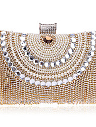 L.WEST® Women's Handmade High-grade Tassel Diamonds Party/Evening Bag