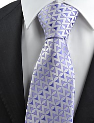 Gravata(Roxo,Poliéster)Estampado