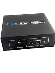 hdmi v1.3 1x2 HDMI Splitter (1 à 2 sorties) support de la 3D 1080p