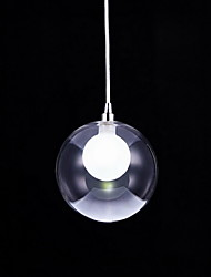Glass Ball Lighting Pendant Modern Lamp 1 Light