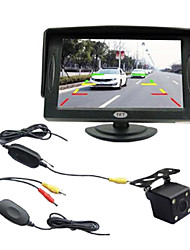 4.3 polegadas retrovisor do carro TFT-LCD com TV