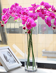 Five Heads Silk Phalaenopsis Artificial Flowers 1pc/set