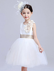 Girl's Polyester Summer The Host Clothing Gold Belt Lace Princess Costume