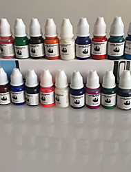 Set of 40 Colors Tattoo Ink 8ml/Bottle Tattoo Pigment Kit Professional