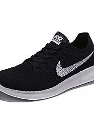 Nike Free RN Flyknit 5.0 Women's Running Shoes Trainers Sneakers Shoes Black Blue Purple Rainbow