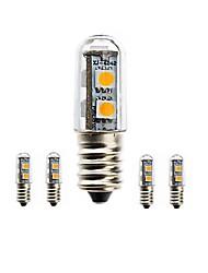 1.5W E14 LED a pannocchia Modifica per attacco al soffitto 7 SMD 5050 80-120 lm Bianco caldo / Luce fredda Decorativo / ImpermeabileAC