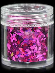 encantadores 12 cores de lantejoulas 10g de jóias unha
