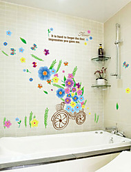 Romantik / Mode Wand-Sticker Flugzeug-Wand Sticker,PVC 50*70cm(19.7*27.6 inch)