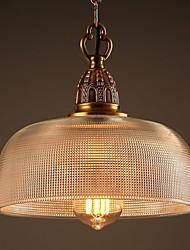 MAX 60W Lampe suspendue ,  Rétro Autres Fonctionnalité for Style mini MétalSalle de séjour / Chambre à coucher / Salle à manger /