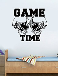 Football Sport Game Time Wall Stickers Diy Removable Sticker Vinyl Home Decal Kiids Room Decoration Bedroom Dcal