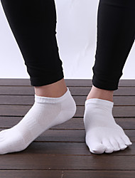 Outdoor Men's Socks Yoga Anti-skidding / Sweat-wicking Spring / Autumn / Winter Free Size(Random Colors)