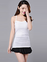 Summer 9 Colors Women's Sexy Solid Multicolors Tanks,Round Neck Sleeveless Vest Camisole Top