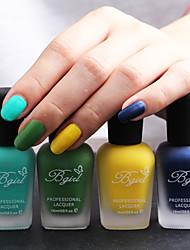 4 pc-bgirl nail art matte nail polish olie -16ml / fles 09-012 (4 kleuren / set)