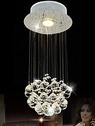 LightMyself 35W Globe Crystal Crystal Pendant LightsLiving Room / Bedroom / Dining Room / Kitchen / Study Room