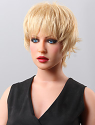 top vente de cheveux humains perruque cheveux courts perruque 14 couleurs au choix